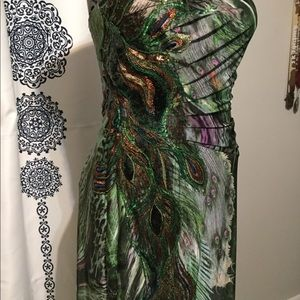 Peacock Formal Gown